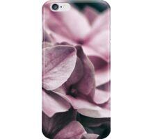 Close up of Pink Hydrangea iPhone Case/Skin