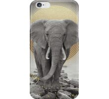 Strength & Courage (Stay Gold Elephant Remix) iPhone Case/Skin