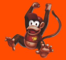 Diddy Kong Kids Clothes