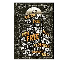 Hunger Games - The Hanging Tree Song Photographic Print