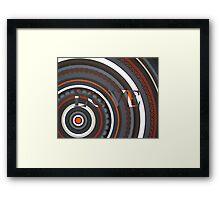 Love Black Framed Print