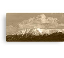 Fagaras mountains Romania, Carpathian Mountains Canvas Print