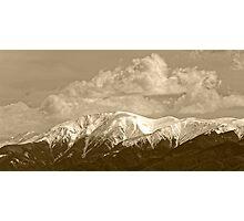 Fagaras mountains Romania, Carpathian Mountains Photographic Print