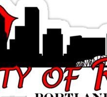 City of Roses Sticker