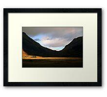 Glencoe  Light Framed Print