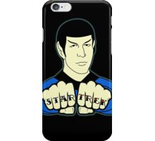 Spock Fist Tattoos iPhone Case/Skin