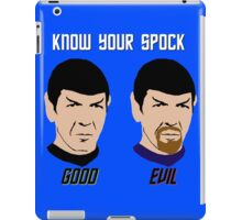 Know Your Spock iPad Case/Skin