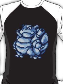 blastoise old sprite 3d T-Shirt