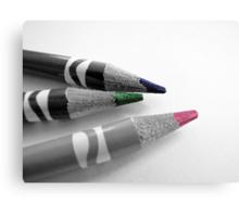 Colored Pencils II Canvas Print