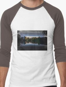 Nature through different colors Men's Baseball ¾ T-Shirt
