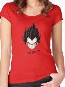 V of Vegeta Women's Fitted Scoop T-Shirt