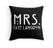 mrs. tate Throw Pillow