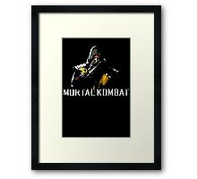 Scorpion - Mortal Kombat Framed Print