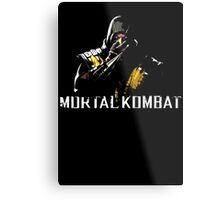 Scorpion - Mortal Kombat Metal Print