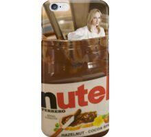 JK Rowling in a Pot of Nutella iPhone Case/Skin