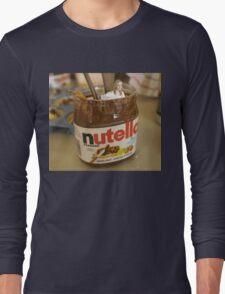 JK Rowling in a Pot of Nutella Long Sleeve T-Shirt