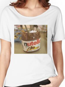 JK Rowling in a Pot of Nutella Women's Relaxed Fit T-Shirt