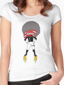 Puff! Puff! Bang! Bang! Women's Fitted Scoop T-Shirt