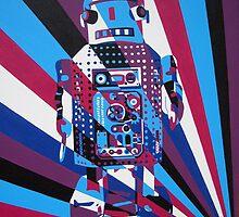 Robot No1 by Annagarside