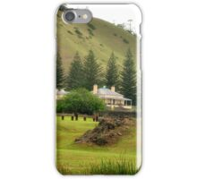 Norfolk Island towards Quality Row iPhone Case/Skin
