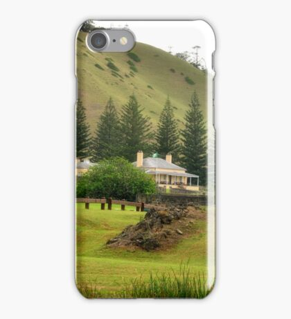 Norfolk Island towards Quality Row iPhone Case/Skin