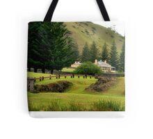 Norfolk Island towards Quality Row Tote Bag