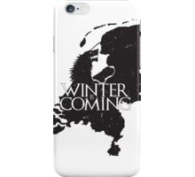 Winter is coming (Netherlands) iPhone Case/Skin