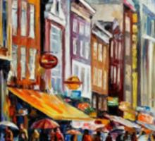 Amsterdam Rain — Buy Now Link - www.etsy.com/listing/128109256 Sticker