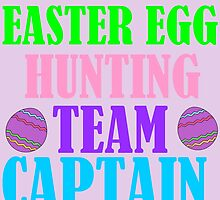 EASTER EGG HUNTING TEAM CAPTAIN by Divertions