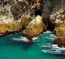 Whale Rock - North Stradbroke Island by Renee Hubbard Fine Art Photography
