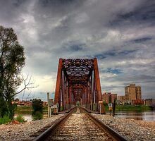 Train Bridge (HDR) by steini