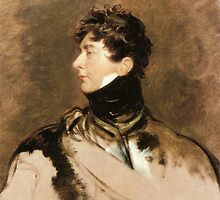 The Prince Regent by Sir Thomas Lawrence, c. 1814. by Adam Asar
