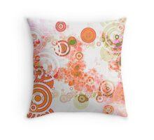 Cherry Vanilla Fizz Throw Pillow