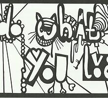 Print of Do What You Love papercutting by amoeba-b