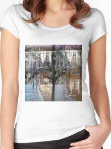 CAM02069-CAM02072_GIMP_B Women's Fitted Scoop T-Shirt