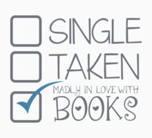 SINGLE TAKEN Madly in love with books by jazzydevil
