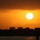 Sunrise over Ft Myers by Virginia N. Fred