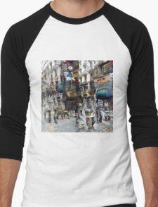 CAM02117-CAM02120_GIMP_B Men's Baseball ¾ T-Shirt