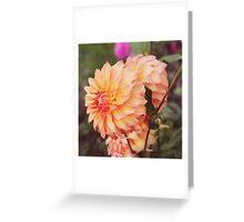Peach Parfait Greeting Card