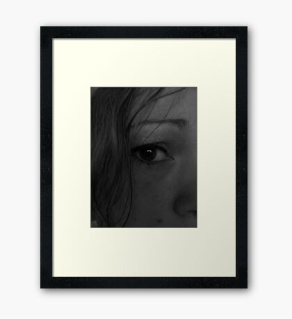 The Saddness Provails  Framed Print