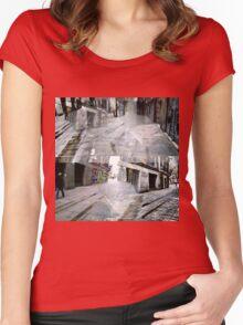 CAM02127-CAM02130_GIMP_A Women's Fitted Scoop T-Shirt