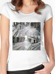 CAM02127-CAM02130_GIMP_A Women's Fitted Scoop T-Shirt