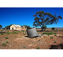 No Water Sedan Sth. Aust Photographic Print