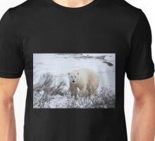 Polar Bear in the Arctic Willow Unisex T-Shirt