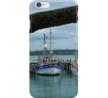 Russel wharf framed by nature..........! iPhone Case/Skin