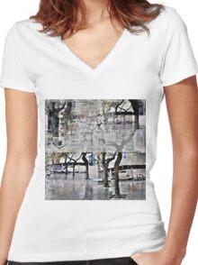 CAM02179-CAM02182_GIMP_A Women's Fitted V-Neck T-Shirt