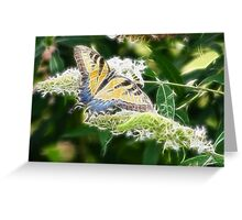 BUTTERFLY FRACTALIUS Greeting Card