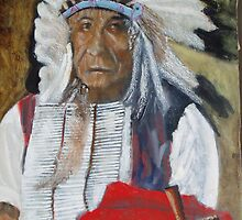 old chief red cloud by Garry Pedros