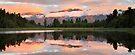 Lake Matheson, South Island, New Zealand by Michael Boniwell