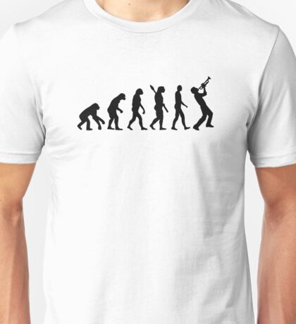 Evolution trumpet Unisex T-Shirt
